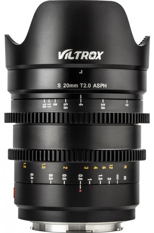 Viltrox L 20mm T2,0 MF L-Mount