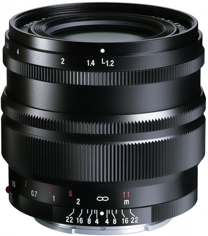 Voigtländer Nokton SE 35mm f1,2 E-Mount schwarz
