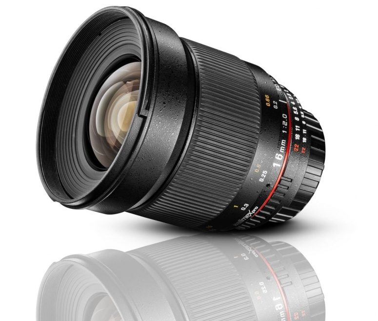 Walimex pro 16mm F2,0 DSLR Canon EF-S