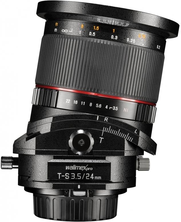 Walimex pro 24mm F3,5 T-S DSLR Canon EF