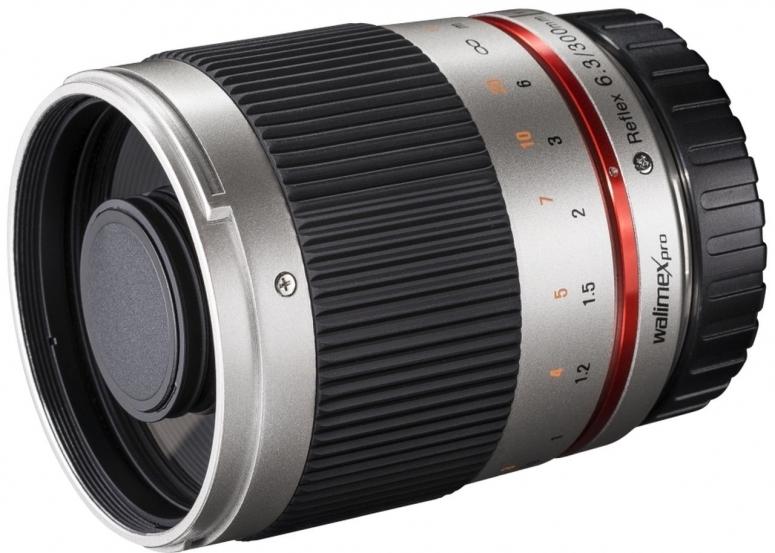 Walimex pro 300mm F6,3 CSC Spiegel Sony E silber