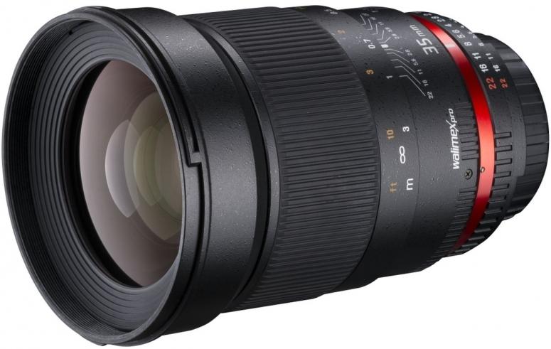 Walimex pro 35mm F1,4 DSLR Canon EF