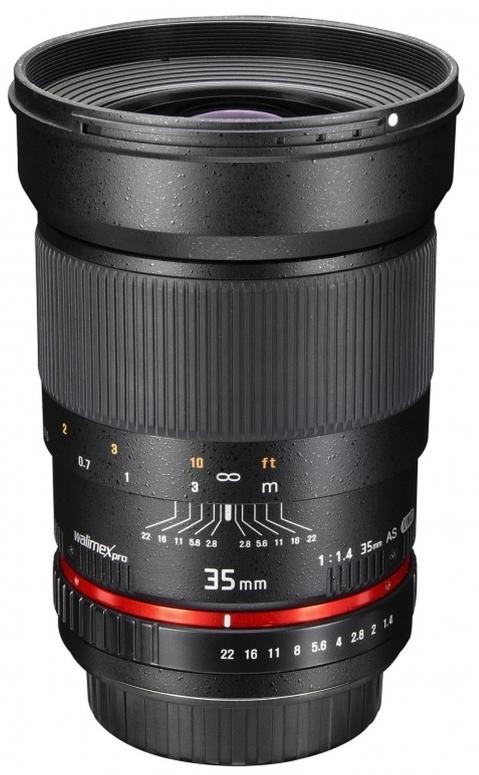Walimex pro 35mm F1,4 Nikon F AE