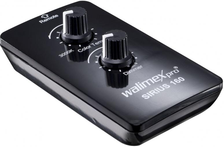 Walimex pro Fernbedienung für Sirius 160 LED