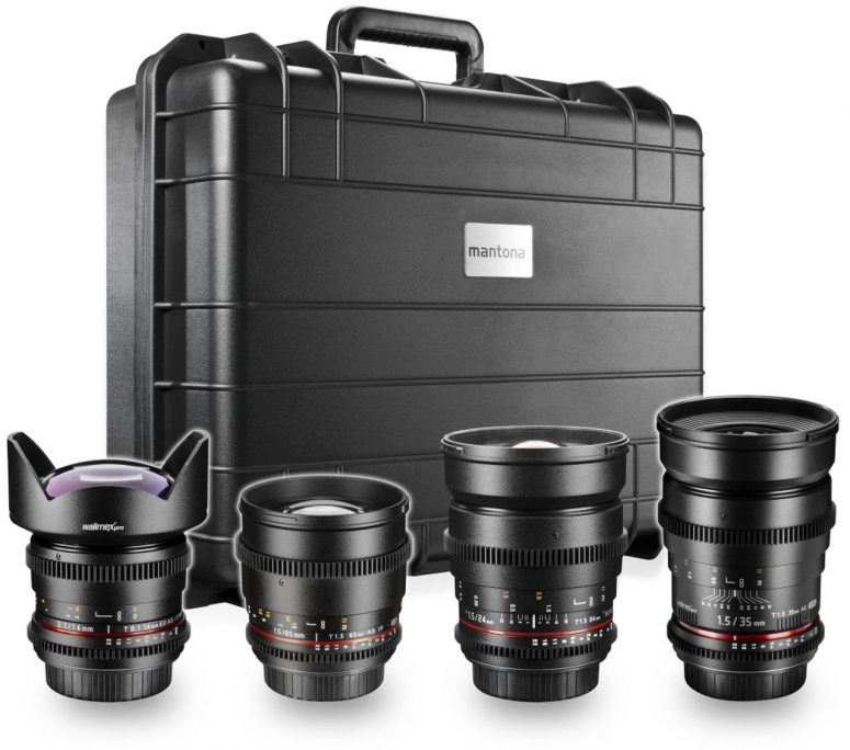 Walimex pro Video WW-Portrait Set 4x Canon EF