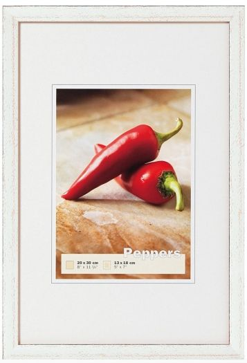 Walther BP010S Peppers Holzrahmen 10x10 silber
