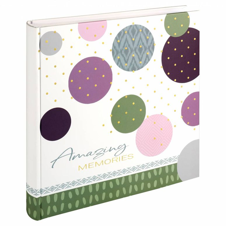 Walther Buchalbum MX-485-A Amazing Memories 30x30cm grün