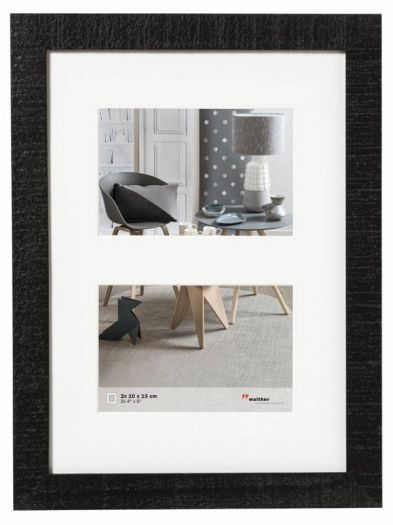 Walther Galerie HO252B Home 2x 15x20cm schwarz
