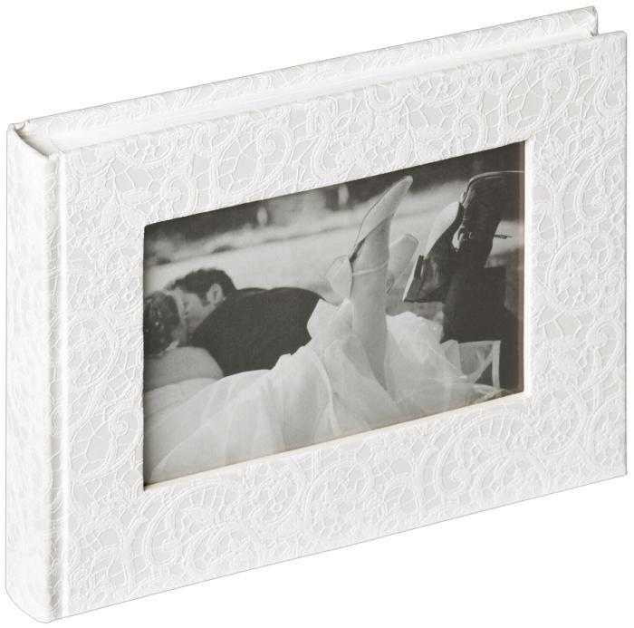 Walther Hochzeitsalbum Music FA-137 40 Seiten 22x16 cm weiß