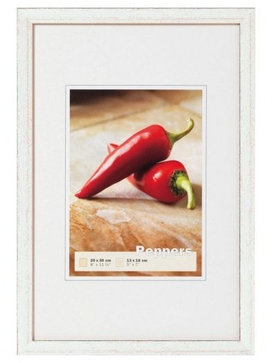 Walther Holzrahmen BP030S Peppers 20x30 silber