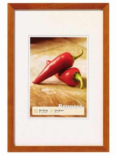 Walther Holzrahmen BP040P Peppers buche 30x40cm
