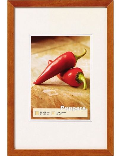 Walther Holzrahmen BP318P Peppers 13x18cm buche