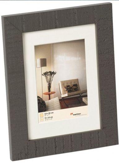 Walther Holzrahmen HO520D Home 15x20cm grau