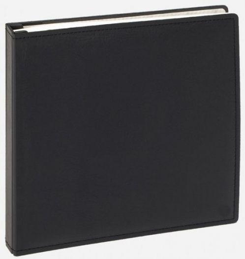 Walther JU-302 Premium Kunstledereinband 37x37 cm schwarz 100 Seiten