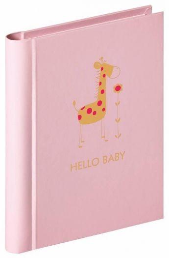 Walther MA-148-R Einsteckalbum Baby Animal rosa für 30 Fotos