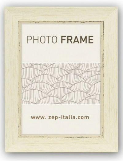 Zep Holzrahmen CC157 Tamigi 13x18cm weiß