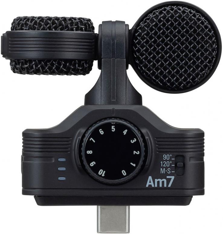 Zoom Am7 MS Stereo Mikrofon mit USB-C Stecker