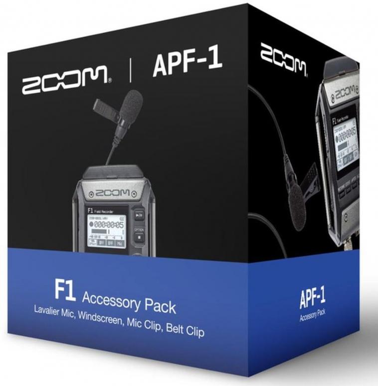 Zoom APF-1 Lavalier Zubehör-Kit für F1