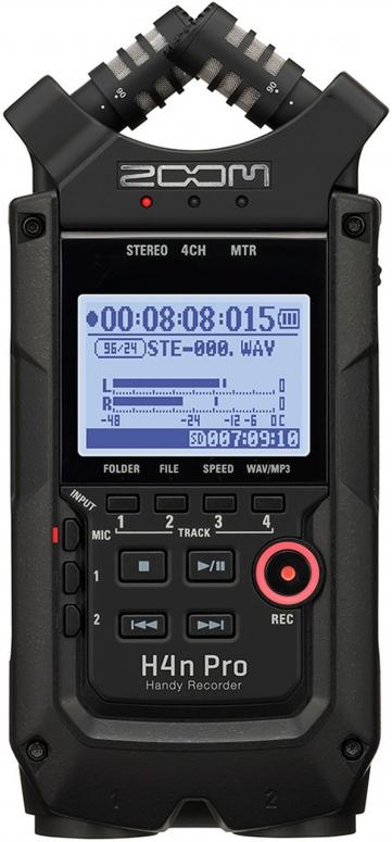 Zoom H4n PRO mobiler 4-Kanal Recorder