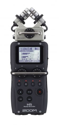 Zoom H5 portabler Audiorecorder