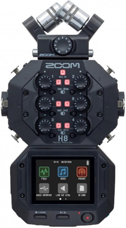 Zoom H8 Audio Recorder