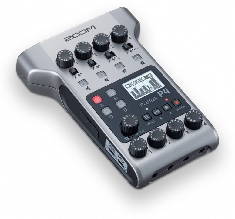 Zoom P4 Podcaster Recorder
