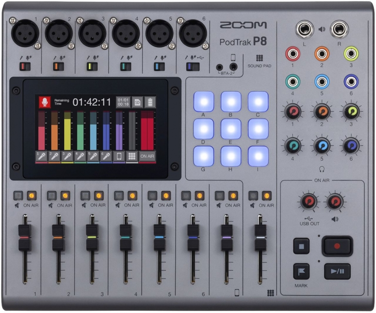 Zoom P8 Podcaster Recorder