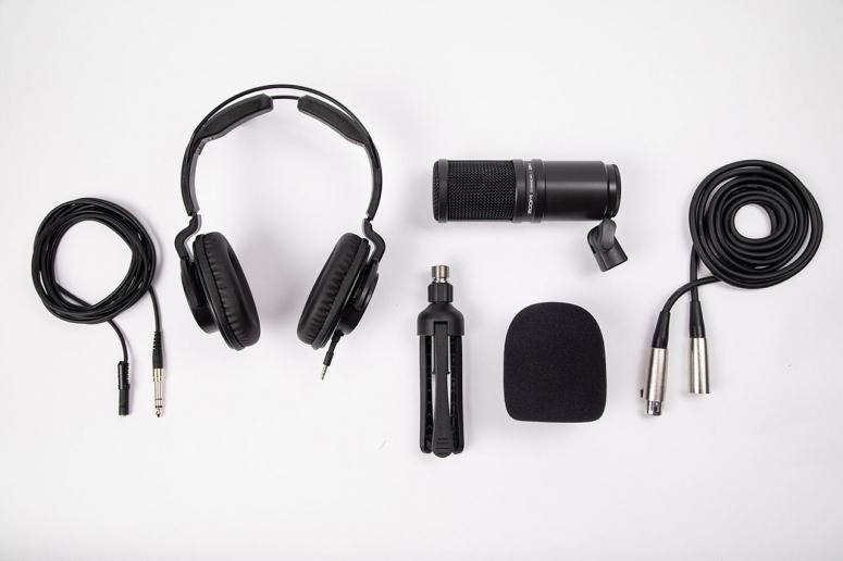 Zoom ZDM-1PMP Podcast Mikrofon-Kit