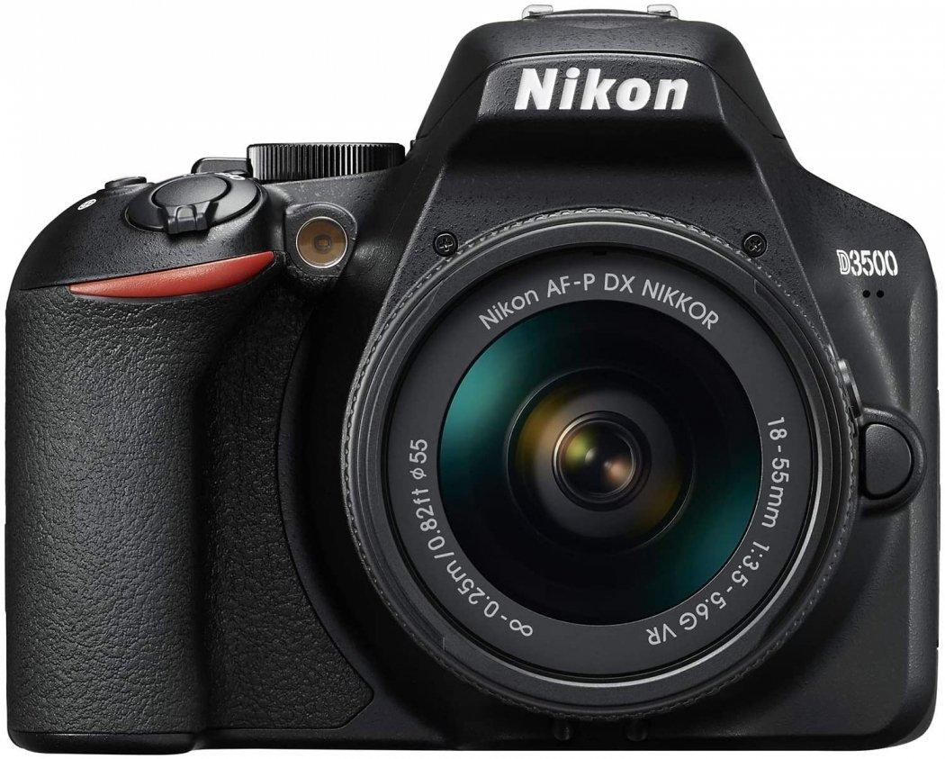 Nikon D3500 + AF-P DX 18-55mm VR Kit