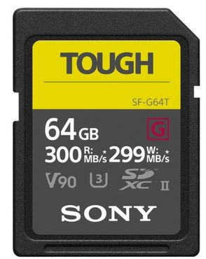 Sony 64GB SDXC UHS-II R300 Tough SF-G64T