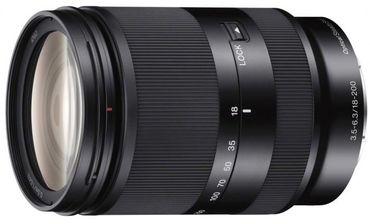 Sony SEL 18-200mm 1:3,5-6,3 OSS LE schwarz