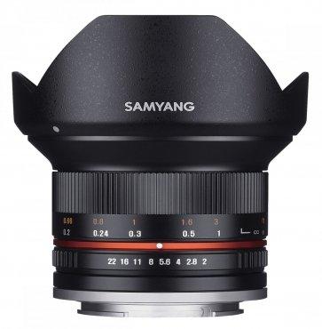 Samyang 12mm 1:2,0 Sony E-Mount schwarz