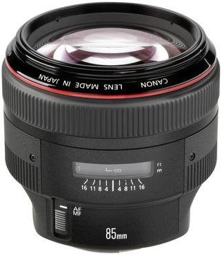 Canon EF 85mm 1:1,2 L II USM