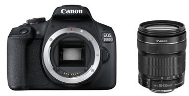 Canon EOS 2000D Kit + EF-S 18-135 f 3,5-5,6 IS STM