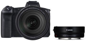 Canon EOS R + RF 24-105mm 4L IS USM + Adapter EF-EOS R