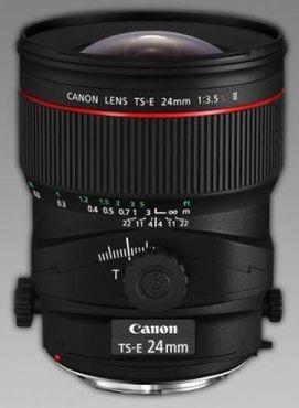 Canon TS-E 24mm 1:3,5L II