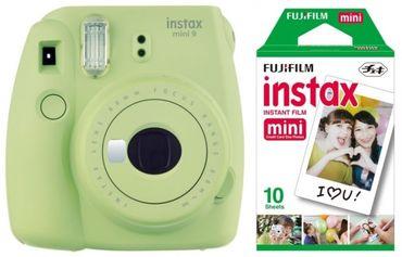 Fujifilm Instax mini 9 limettengrün inkl. Film