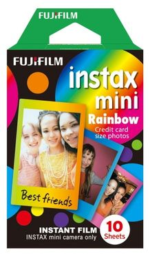 Fujifilm Instax Mini Film Rainbow Single
