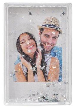 Fujifilm Instax Mini-Rahmen m. Schneekugel-Effekt