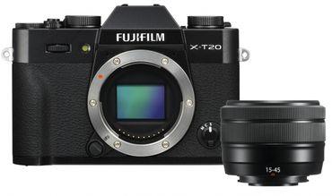 Fujifilm X-T20 + XC15-45mm schwarz
