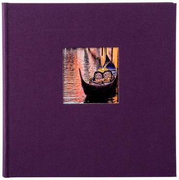 Goldbuch Fotoalbum 24818 Bella Vista dark aubergine