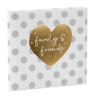 Goldbuch Gästebuch you & me forever