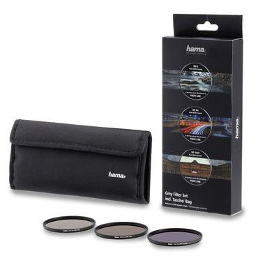Hama Graufilter-Set 76899 ND8, ND64, ND1000 58mm