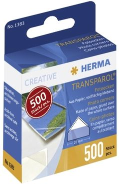 Herma Transparol Fotoecken 500 Stück (1383)
