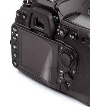 Kaiser Displayfolie A-Reflex 6670 für Nikon D7100, D7200