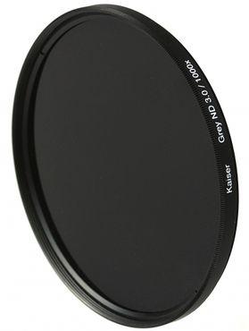 Kaiser Graufilter ND 3,0 / 1000x ø 52mm inkl. Adapter für ø 49mm
