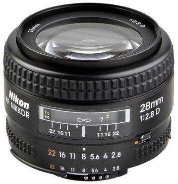 Nikon AF 28mm 1:2,8 D