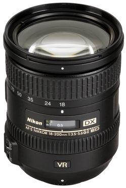 Nikon AF-S 18-200mm 1:3,5-5,6 II DX G ED VR