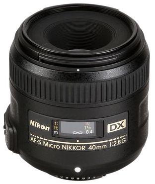 Nikon AF-S Micro-Nikkor 40mm 1:2,8 DX G