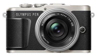 Olympus PEN E-PL9 schwarz + 14-42mm II EZ Pancake